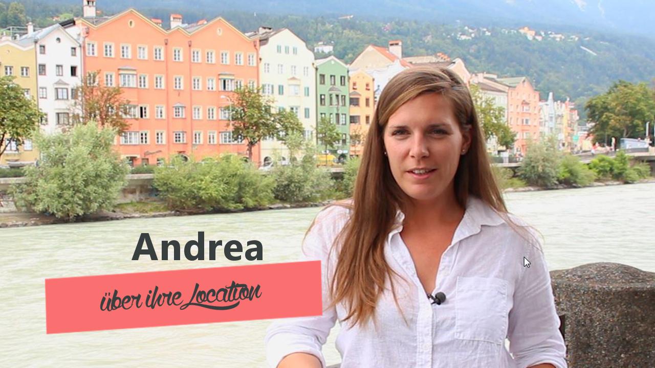 Andrea über ihre Hochzeitslocation - heiraten wie es uns gefaellt