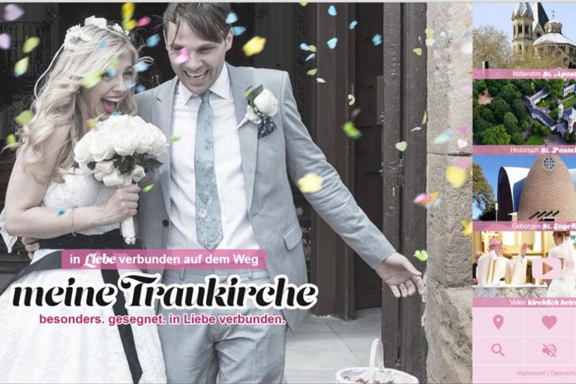 meinetraukirche.de: So präsentieren sich Kölner Kirchen im Internet