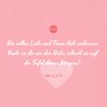 Trauspruch: Nie sollen Liebe und Treue dich verlassen