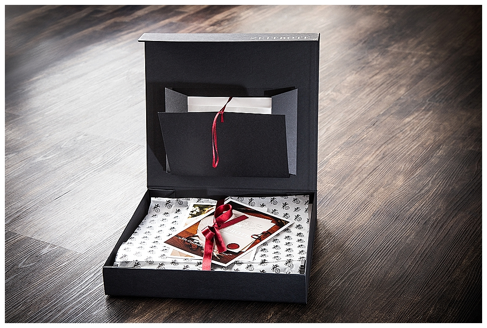 Hochzeitsbriefe vom Zeitboten als Gästebuch